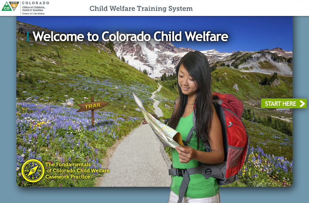Online Training Module for the Child Welfare Training System of Colorado