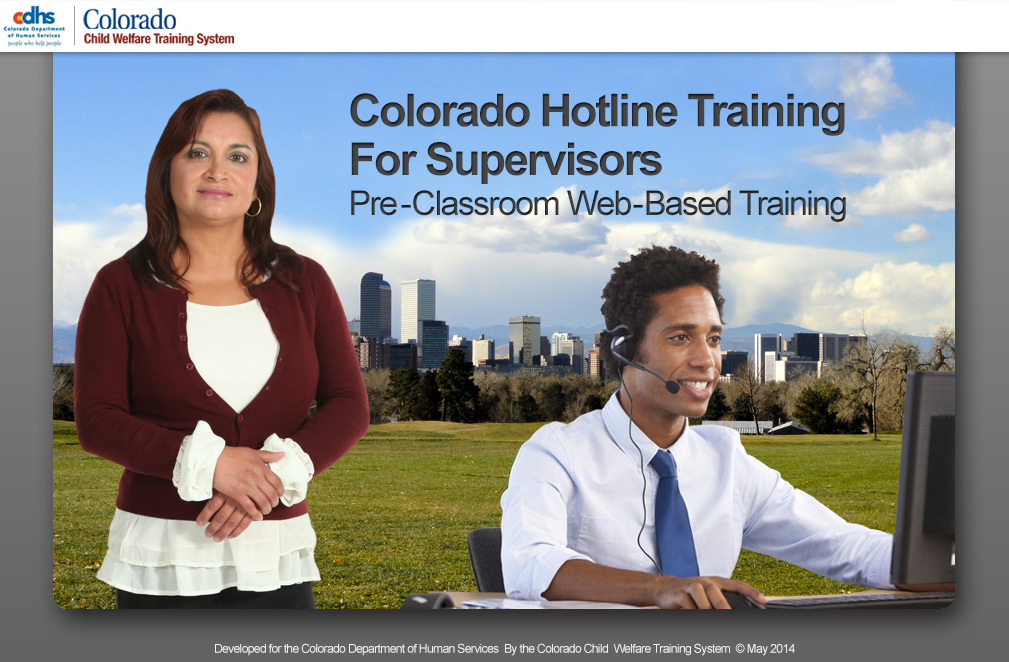CDHS Hotline Training Online Module
