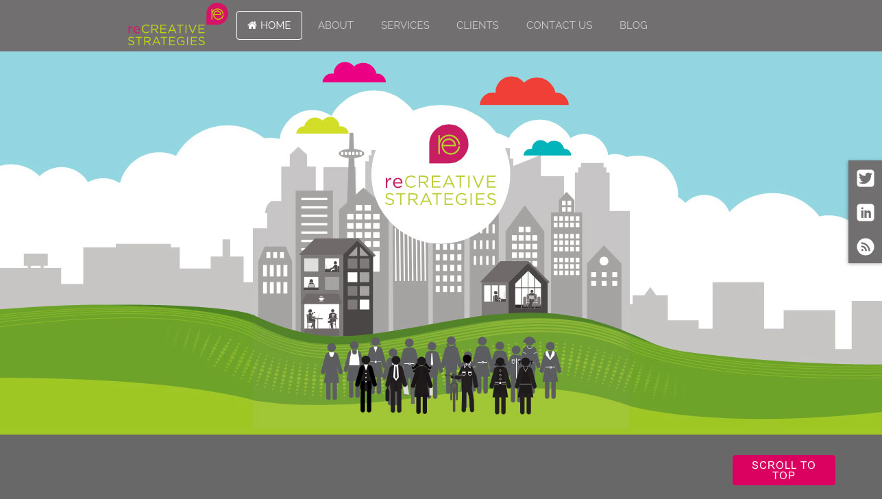 reCreative Strategies Website